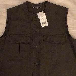 Vince Sleeveless Top Size 6